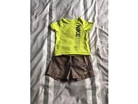 Nike 12-18 months shorts & t-shirt