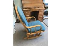 Hauck Nursing Chair with footstool