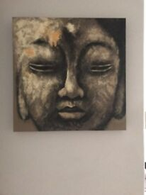 Buddha Painting 50cm by 50cm only £10