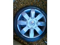 Clio 182 alloy wheels (graphite grey)