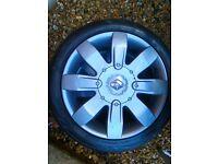Clio 182 alloy wheels (graphite grey)