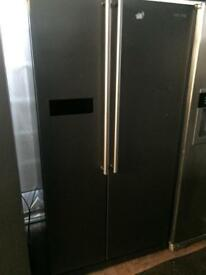 Samsung silver good looking frost free A-class American style fridge freezer