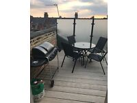 Outdoor dining set and BBQ!
