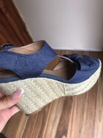 Claudie pierlot wedged shoes size 38 RPP £25