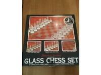Arboath & Turnbury Glass Chess Set