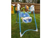 Fisher Price Magical mobile swing. Very good condition. Quick clearance sale. Best price.