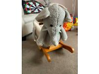 Elephant musical rocker