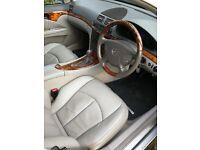 Mercedes E320 2003 Silver 7 seater.
