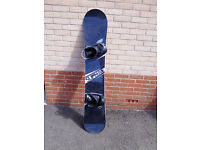 Screw Snowboard (made by Raven) 169cmW HARDLY USED!