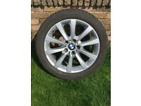 BMW 5 series 18 inch alloy wheel