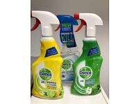 16x dettol cleanin products