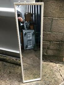 Vintage long narrow mirror with FREE DELIVERY PLYMOUTH AREA