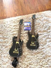 Guitar Hero for PS4 with 2 guitars