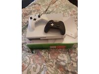 xbox 1tb with controller and elite controller