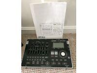 Boss BR800 recording studio with accessories