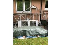 Reassembling second hand greenhouse