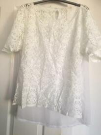 Next lace top size 18