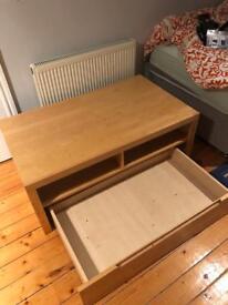 IKEA TV CABINET - Birch - Great Condition