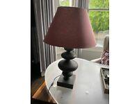 Two stunning OKA Table Lamps For Sale