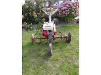 Cultivator, Honda Tiller F501 4 stroke petro engine.
