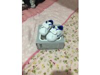Nike baby shoes size 0 worn twice