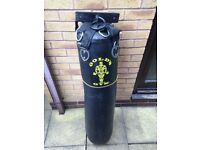 Golds punch bag