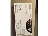 3x sunset Boulevard Tickets