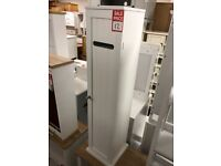 tall toilet unit - white