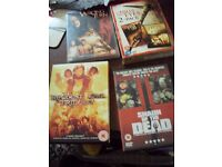 horror films bundle , hills have eyes - resident evil trilogy 4 disc box etc