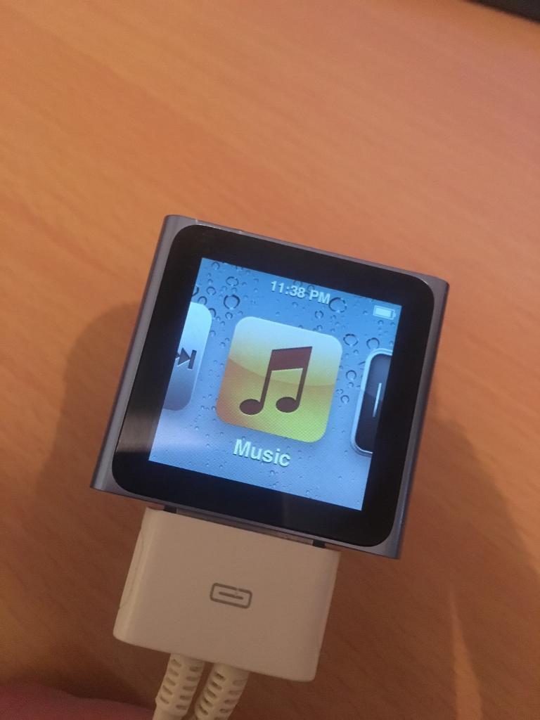 iPod Nano 6th Gen 8gb Blue (Touch screen) | in Southampton ...