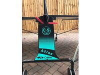 A full size/championship Creber Atlas Table-tennis table in great condition
