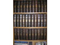 Antique Encyclopaedia Britannica Complete 9th and 10th Edition