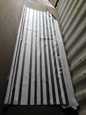 "NEW Coleman/Fleetwood Popup Tent Trailer BAG AWNING SUN SHADE 9' x 38"" Striped"