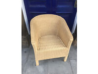 Basket Weave Tub Chair , good condition , clean . Feel free to view...