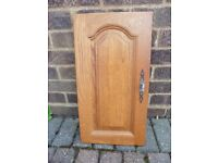 Solid Wood Kitchen Cupboard and drawer fronts;- a new kitchen at a fraction of the price.