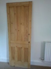 Pine door internal