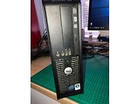 Windows Desktop PC Dell Optiplex 760 8GB Ram 1 TB Hard Drive Windows 10 Pro Intel Core 2 Duo CPU