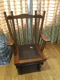 Rocking chair frame