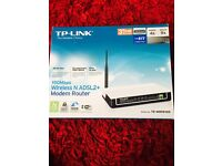 TP-LINK 150 MBPS WIRELESS N ADSL2+ MODEM ROUTER