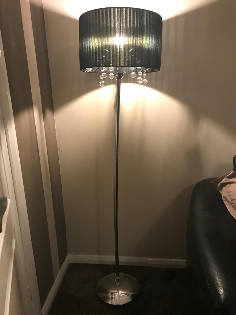 Floor lamp (chrome)