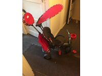 Red trike only used 3 times