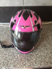 Ladies crash helmet