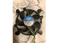 Intel Xeon 1245v3 socket 1150 cooler only. Good little cooler