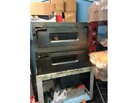 Double deck Electric pizza oven. Please call before 4 pm