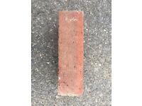 approx 500 reclaimed Ibstock Bricks 215 x 102 x 65 ( L x W x H mm)