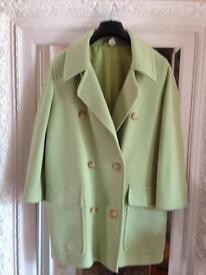Coat/long jacket. Lakeland cashmere & wool mix