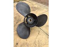 Boat propeller mercruiser propeller