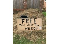 FREE wood chipping