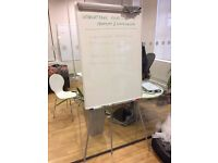WHITEBOARD ON EASEL STAND - 2 available £5 each