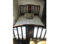Lovely Edwardian double bed
